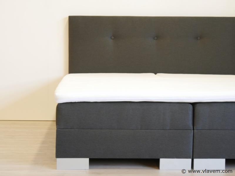 Boxspring elektrisch Modern Brussel, 180x200 cm, antraciet