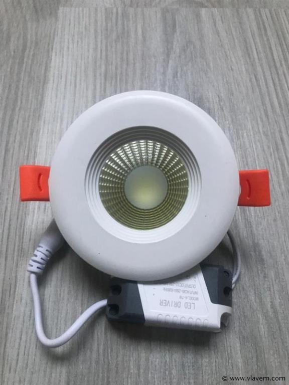 20 x 7W inbouw wit LED rond spotlampen
