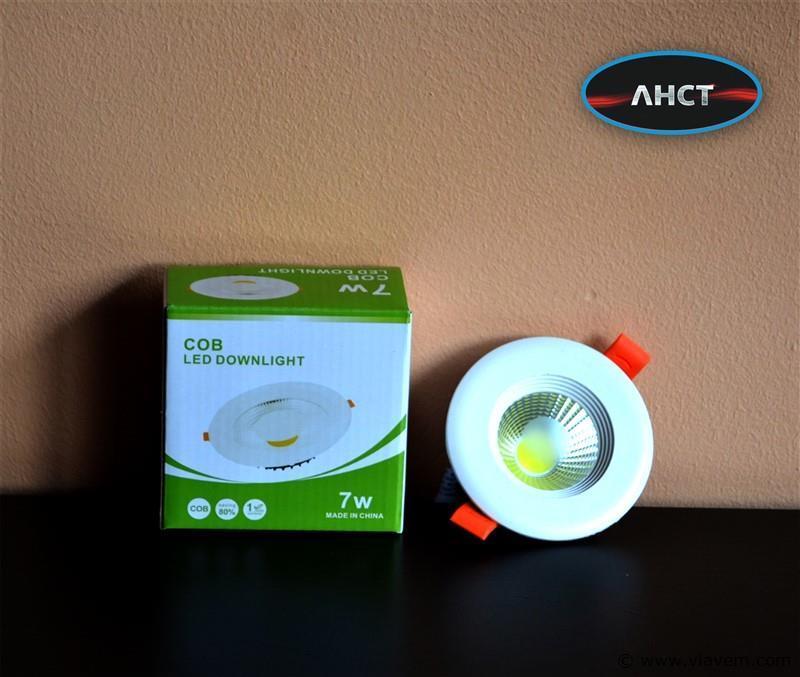 100 x 7W inbouw wit LED rond spotlampen