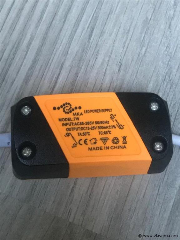 20 x 7W inbouw LED rond grijs spotlampen