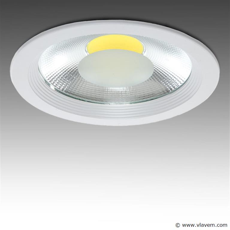 10 x 30W inbouw warm wit LED rond spotlampen
