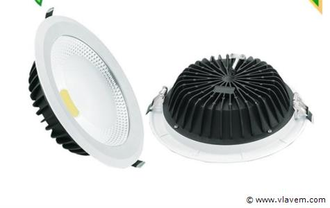 20 x 30W inbouw warm wit LED rond spotlampen