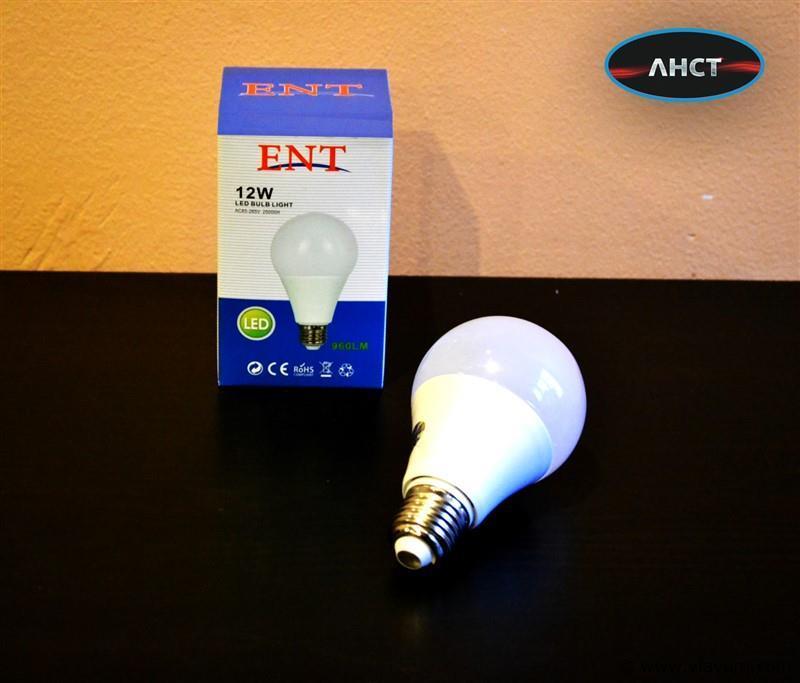 25 x E27 12W LED-lamp peervormig, mat - koudwit