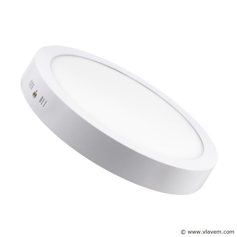 20 x 30W Opbouw wit rond LED panelen