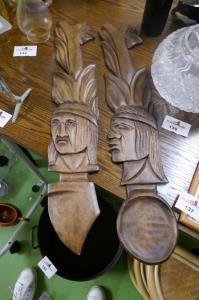 Decoratie in hout