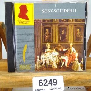 Mozart. Songs/lieder II