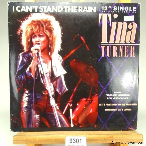 Tina Turner. I can't stand the rain