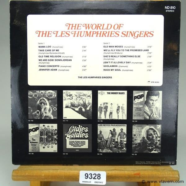 The world of The Les Humpries singers