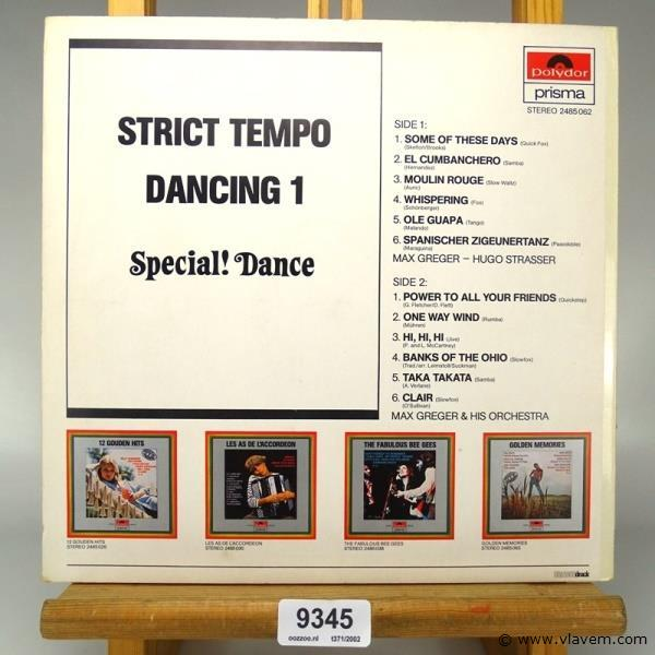 Strict tempo dancing 1