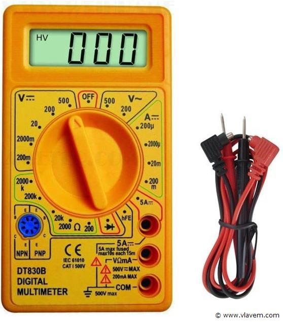 Partij Multimeters