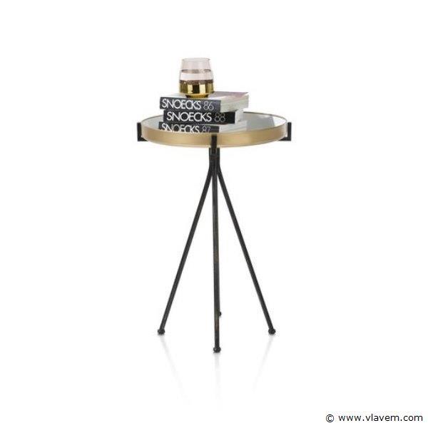 1st. Bijzettafel MILLER WIT - H70 x B70 x D35