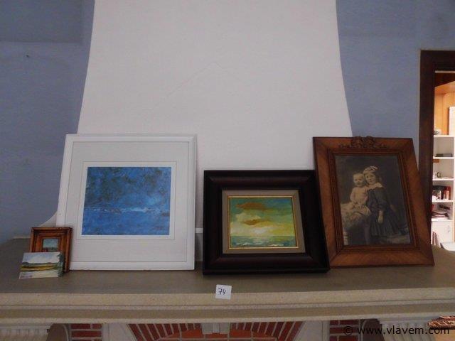 kaders en schilderijen