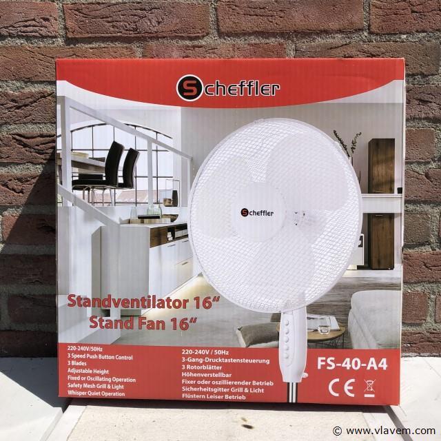 Scheffler staande ventilator