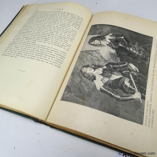 Antiek boek. De oude Vlaamsche Meesters