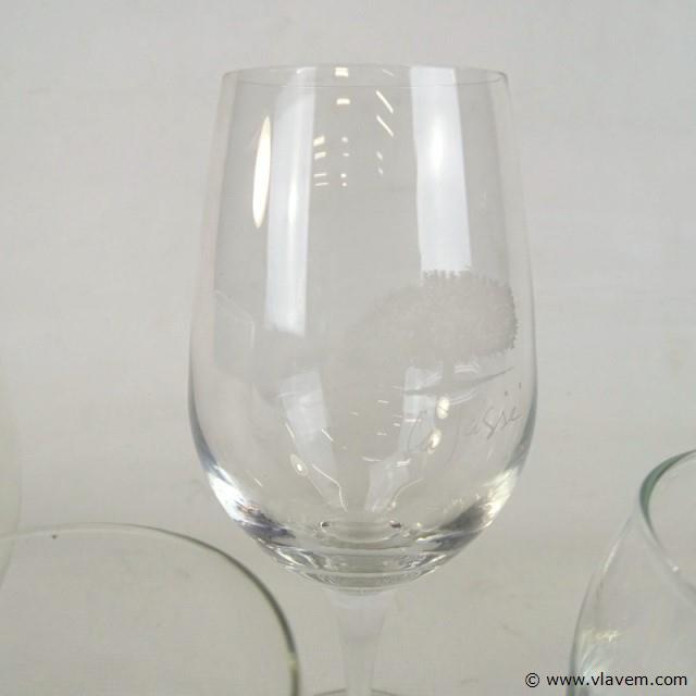 5 glazen