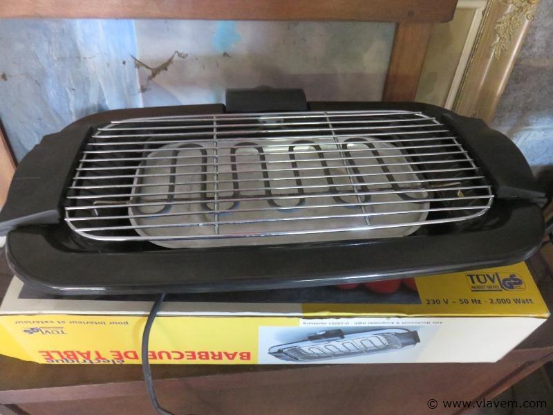 Tafel BBQ elektrisch