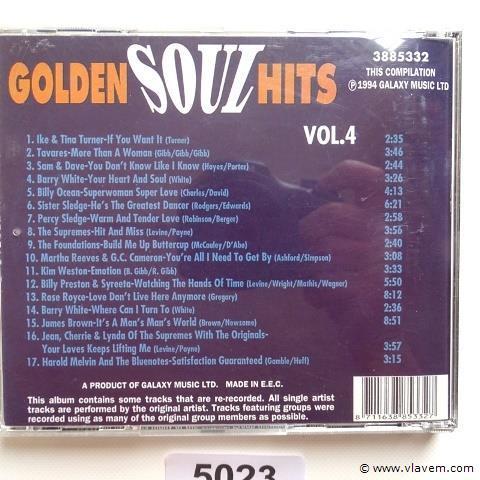 Golden soul hits