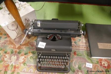 Oude typmachine