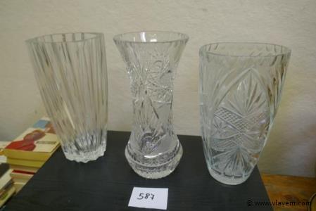 Vazen in glas