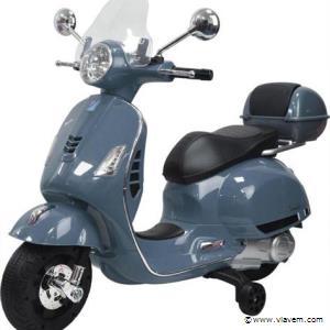 Elektrische Vespa GTS scooter voor kinderen. Kleur Grijs