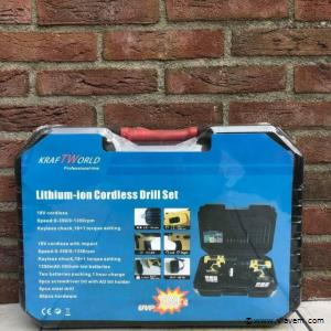 Kraftworld Lithium-ion Cordless Drill Set