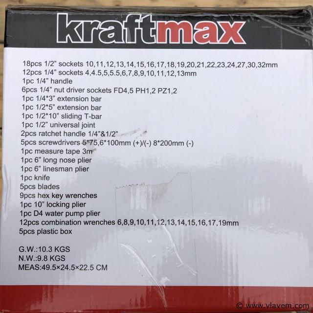 Kraftmax KF-85 gereedschapskist