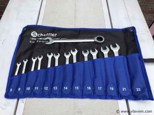 Scheffler steekratel set