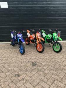 Minicrosser 49cc Oranje