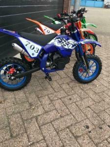 Minicrosser 49cc Blauw