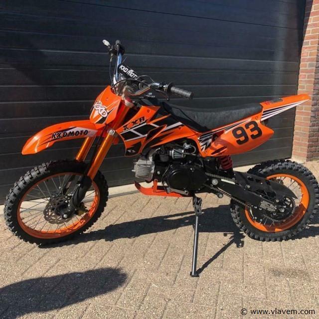 Crosser 125cc Oranje