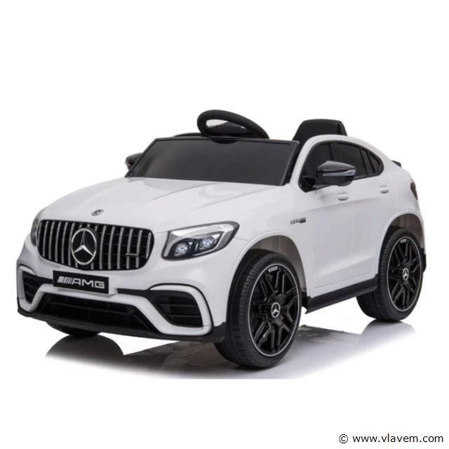 Mercedes GLC 63S kinderauto wit