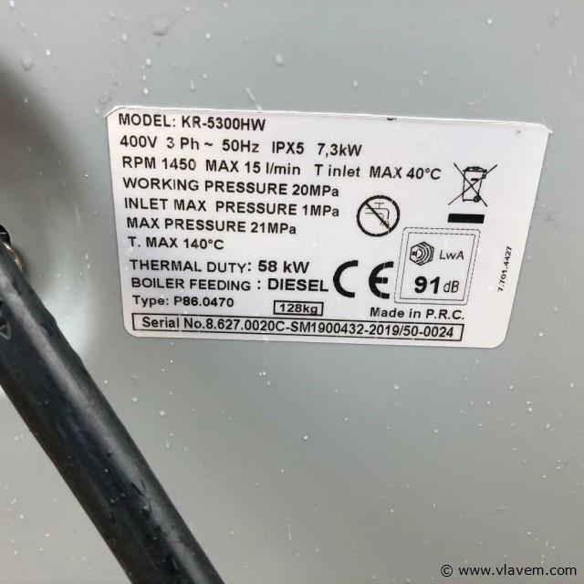 HD reiniger, Berger BG-4200HW