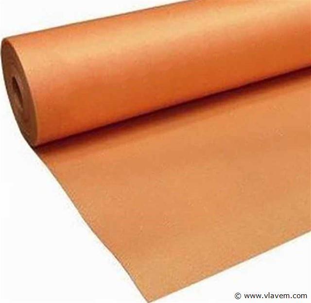 Ondervloer voor laminaat Oranje met afplaktape, 12x