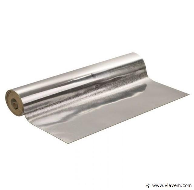 Ondervloer voor laminaat & parket Aluminium, 8x
