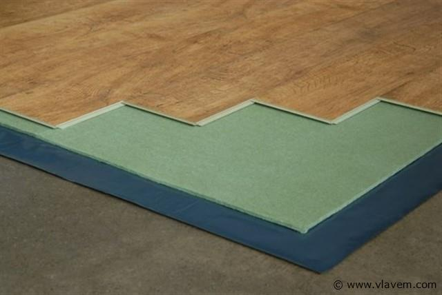 Ondervloer voor Laminaat & Parket Groene platen, 14 m2