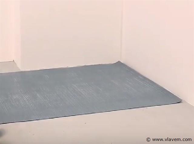 Ondervloer voor PVC Plakvloeren (zelfklevend), 36m2