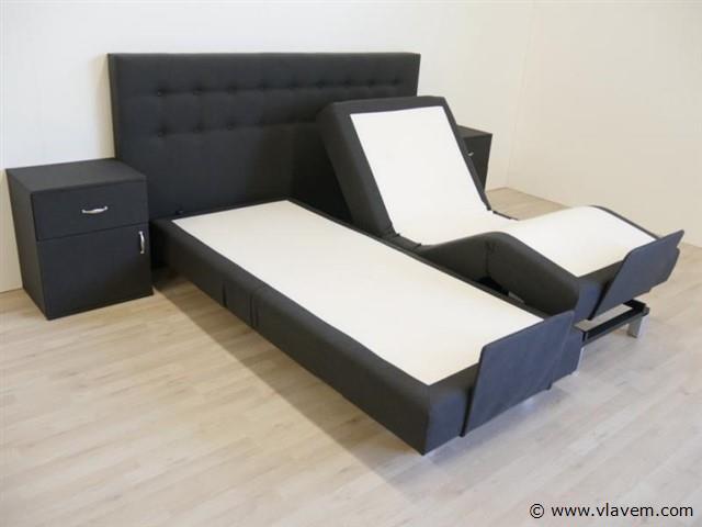 Boxspring Home Luxo, 160x200 cm, antraciet