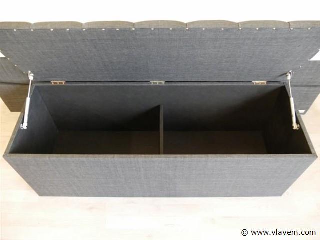 Bench Italia Quatra, antraciet