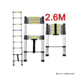 Telescopische Aluminium ladder 9 treden