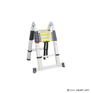 Multifunctionele Aluminium ladder 16 treden