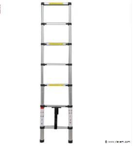 Telescopische Aluminium ladder 7 treden, 4x