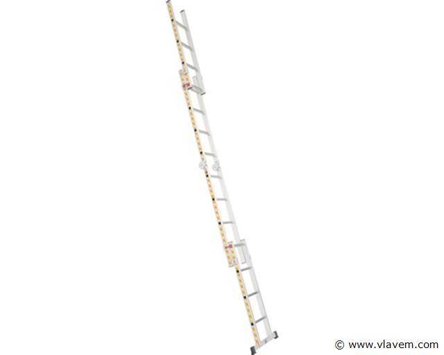 Multifunctionele ladder 4x4 sporten