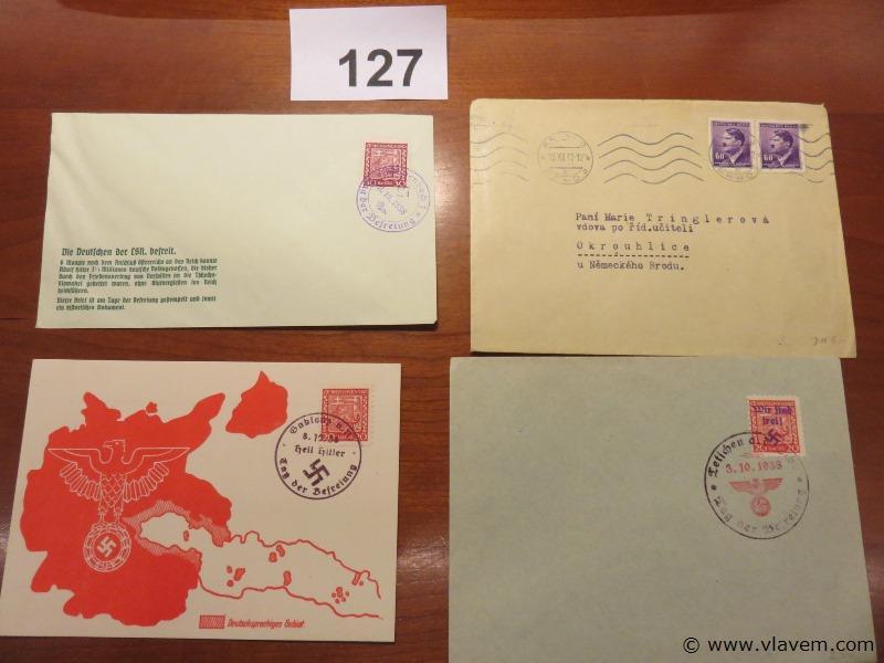 Enveloppes, 4 stuks