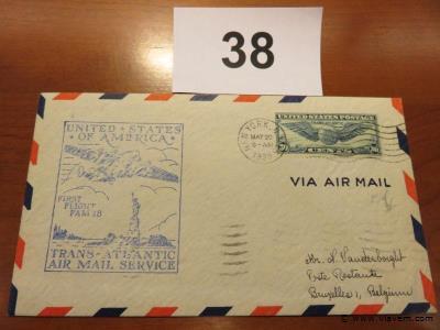 Enveloppe luchtpost USA
