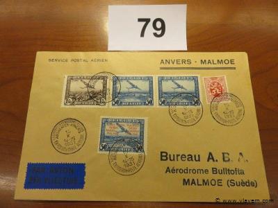 Enveloppe Anvers-Malmoe