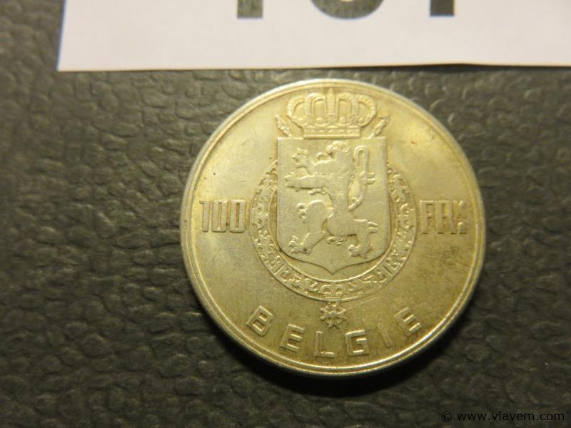 Munt 100 fr van 1949