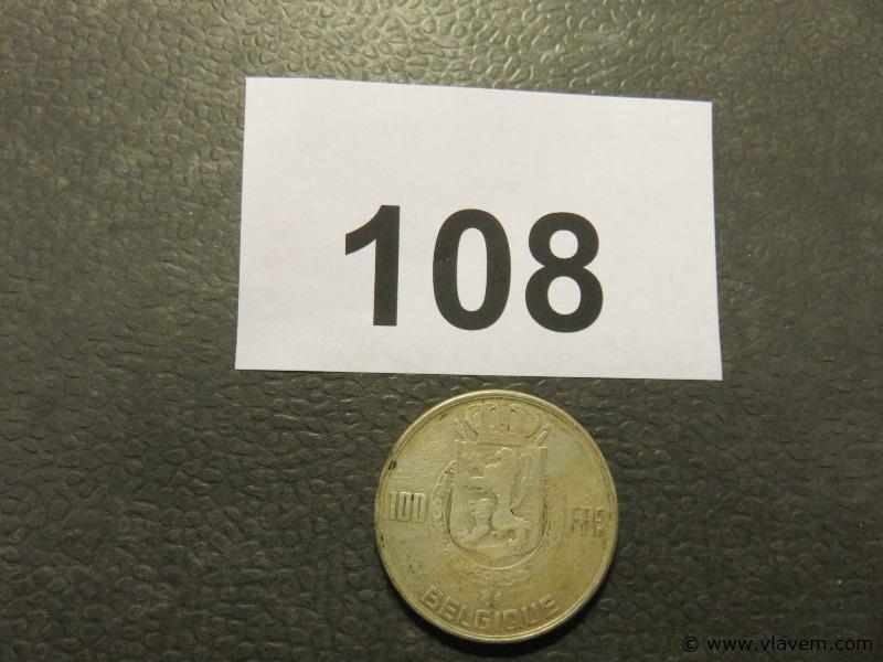 Munt 100 fr van 1950