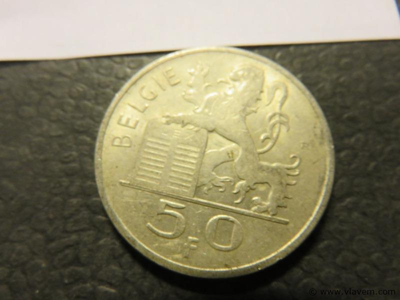 Munt 50 fr van 1951