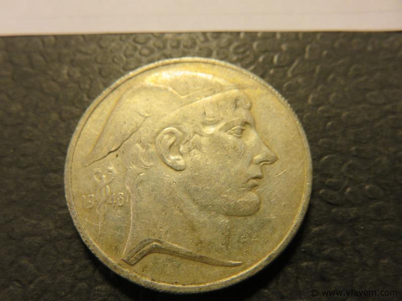 Munt 50 fr van 1948