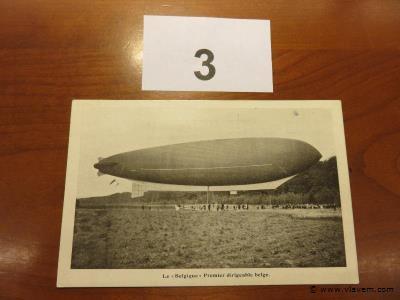 Postkaart Zeppelin